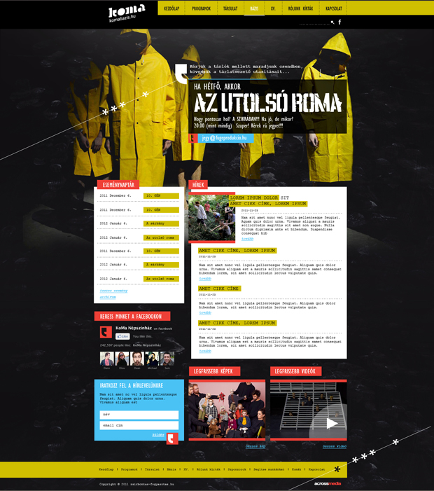 Koma - webdesign, build, programozás, cms