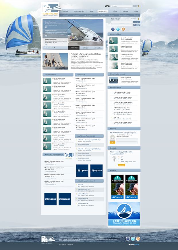Sailing.hu - webdesign, build, programozás, cms