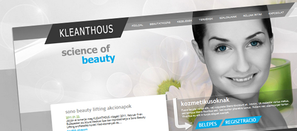 Kleanthous - webdesign, build, programozás, cms