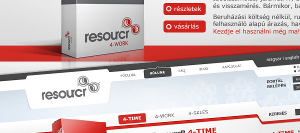 Resourcr 4-time webdesign