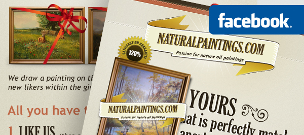 Naturalpaintings.com - webdesign