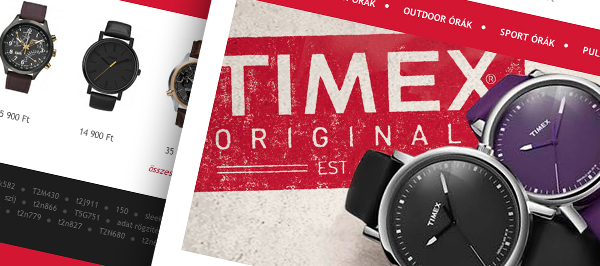 Timex - webdesign, build, programozás, cms