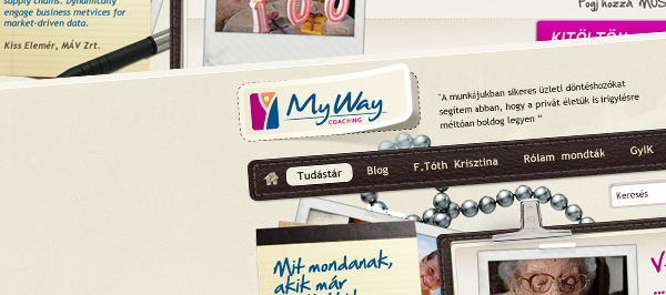 MyWay Coaching - webdesign, build, programozás, flash
