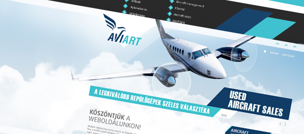 AviArt - webdesign, build, programozás, cms